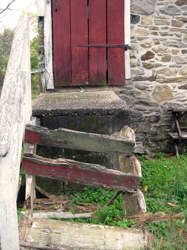 Farm Door Steps