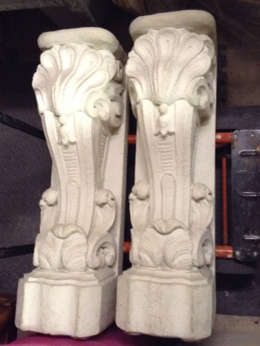 wallpieces  concrete columns  flax  u00ab everything is not