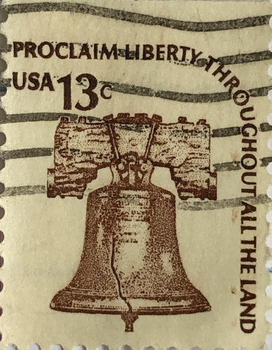 Liberty Bell Postage Stamp