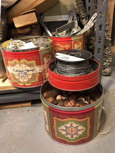 Tins in Use